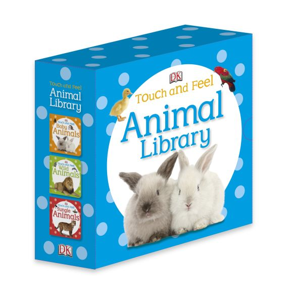 Slipcase of Editions cover of Touch and Feel: Animal Library