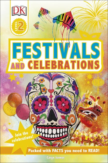 Hardback cover of DK Readers L2 Festivals and Celebrations