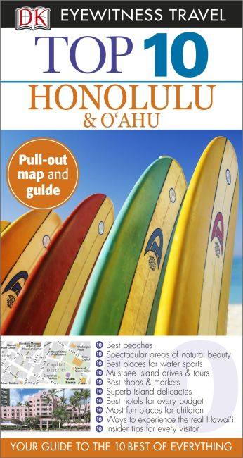 Paperback cover of Top 10 Honolulu & Oahu