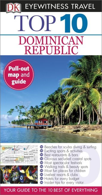 Paperback cover of Top 10 Dominican Republic