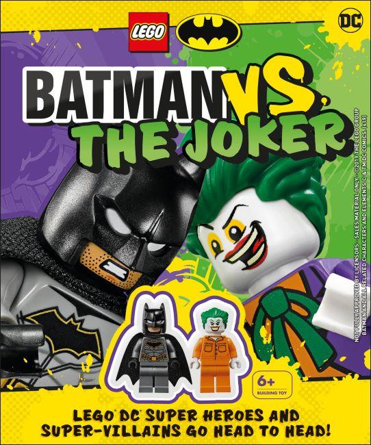 Hardback cover of LEGO Batman Batman Vs. The Joker
