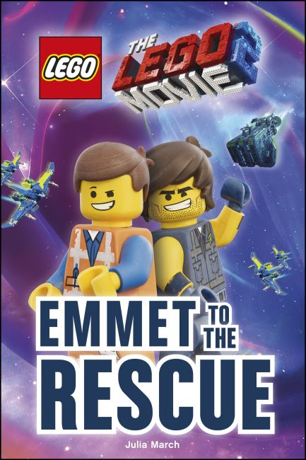 Hardback cover of THE LEGO® MOVIE 2™ Emmet to the Rescue