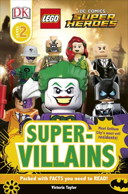 Paperback cover of DK Readers L2: LEGO DC Super Heroes: Super-Villains