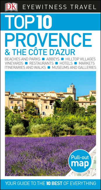 Paperback cover of Top 10 Provence and the Côte d'Azur