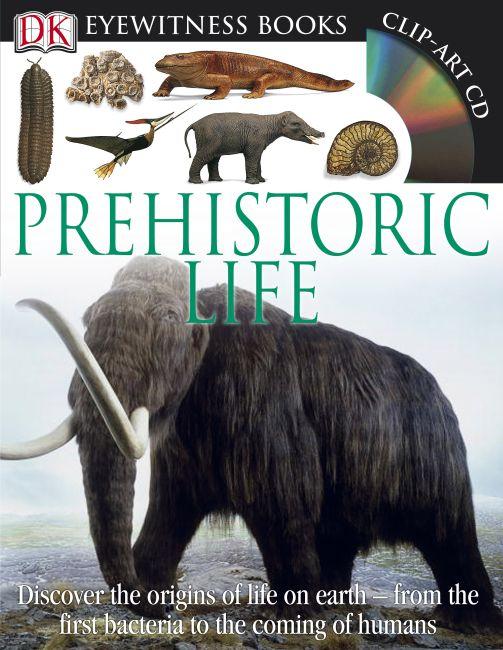 Hardback cover of DK Eyewitness Books: Prehistoric Life
