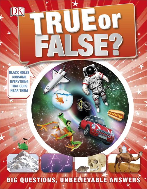 Hardback cover of True or False?