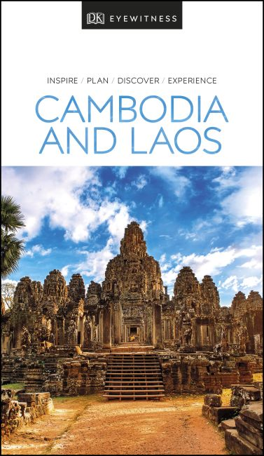 Paperback cover of DK Eyewitness Travel Guide Cambodia and Laos