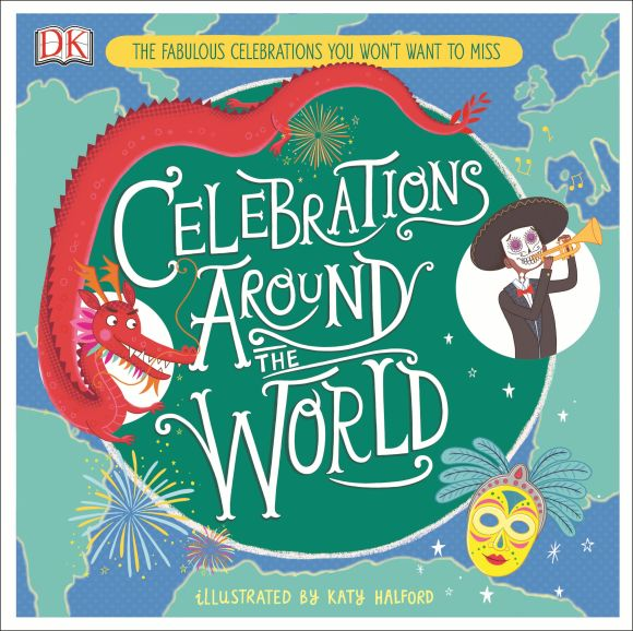 Hardback cover of Celebrations Around the World