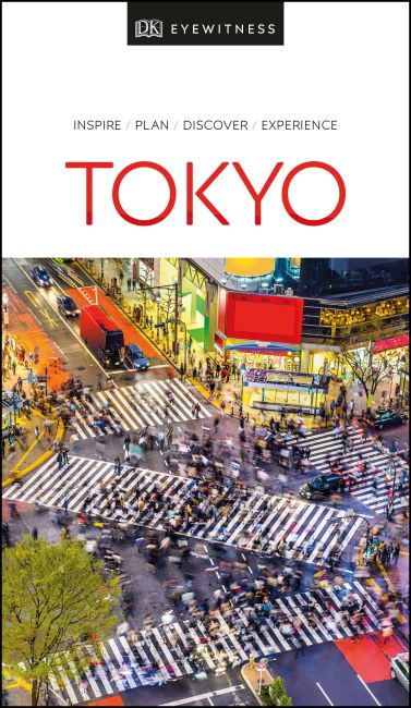 Paperback cover of DK Eyewitness Tokyo