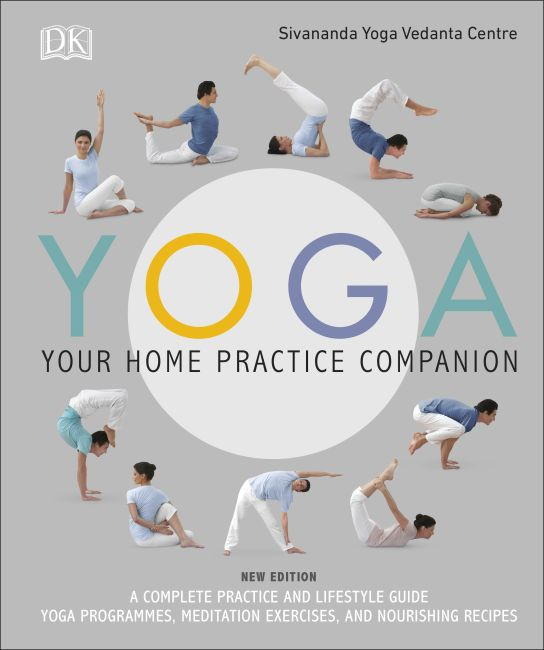 Hardback cover of Yoga Your Home Practice Companion
