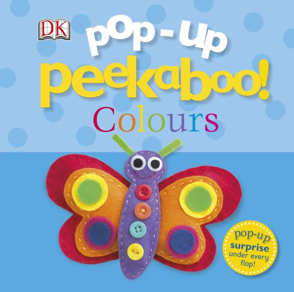 Board book cover of Pop-Up Peekaboo! Colours