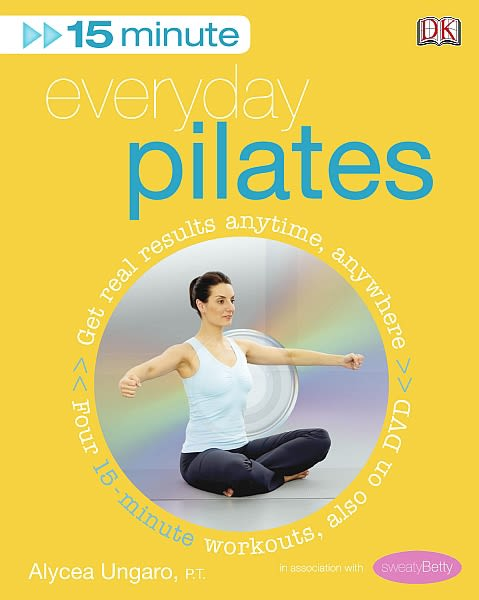 Flexibound cover of 15-Minute Everyday Pilates