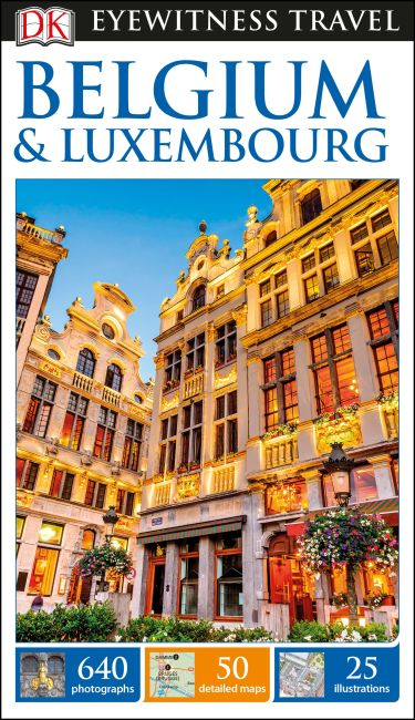 Flexibound cover of DK Eyewitness Travel Guide Belgium and Luxembourg