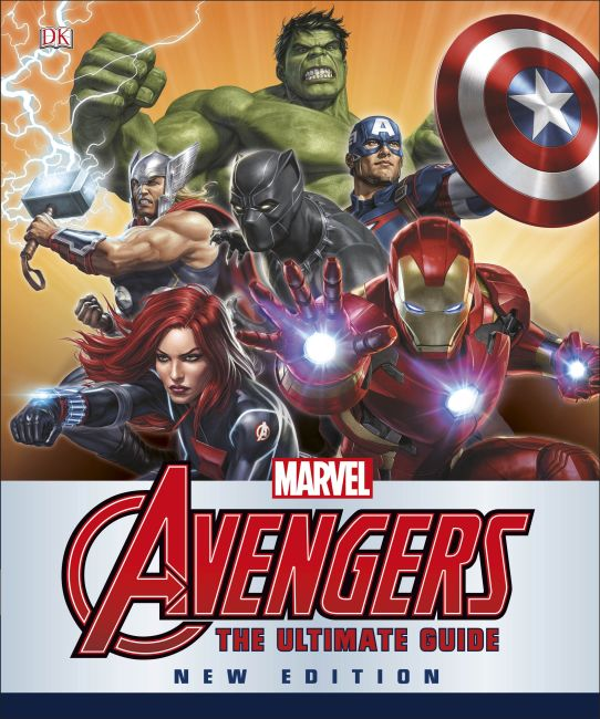 Hardback cover of Marvel Avengers Ultimate Guide New Edition