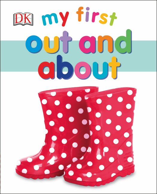 Board book cover of My First Out and About