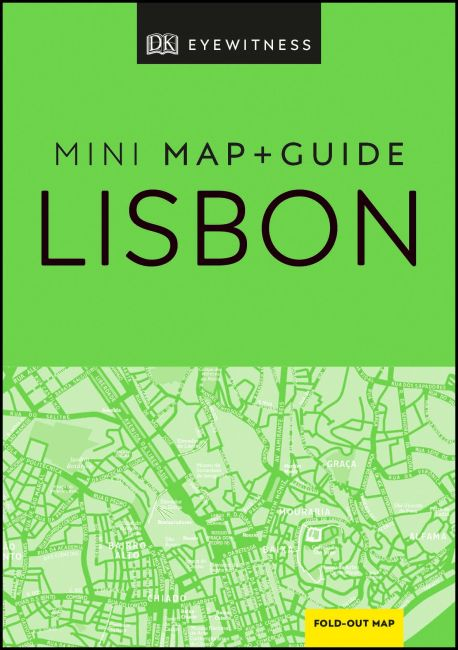 Flexibound cover of DK Eyewitness Lisbon Mini Map and Guide