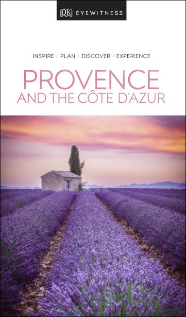 Paperback cover of DK Eyewitness Travel Guide Provence and the Côte d'Azur