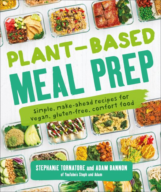Paperback cover of Plant-Based Meal Prep