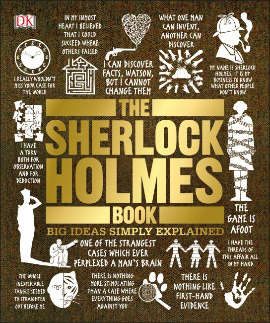 Paperback cover of The Sherlock Holmes Book