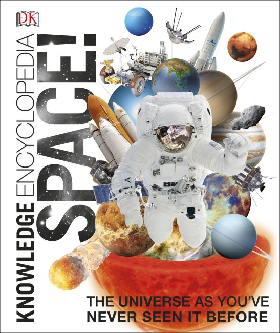 Hardback cover of Knowledge Encyclopedia Space!