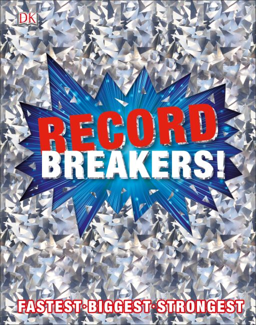 Hardback cover of Record Breakers!