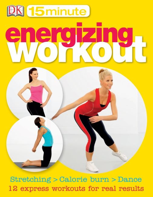 eBook cover of 15-Minute Energizing Workout