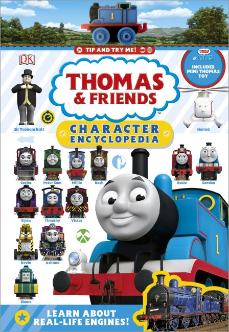 Hardback cover of Thomas & Friends Character Encyclopedia