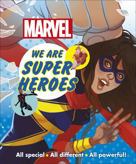 Hardback cover of Marvel We Are Super Heroes!