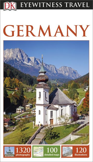 Paperback cover of DK Eyewitness Travel Guide Germany