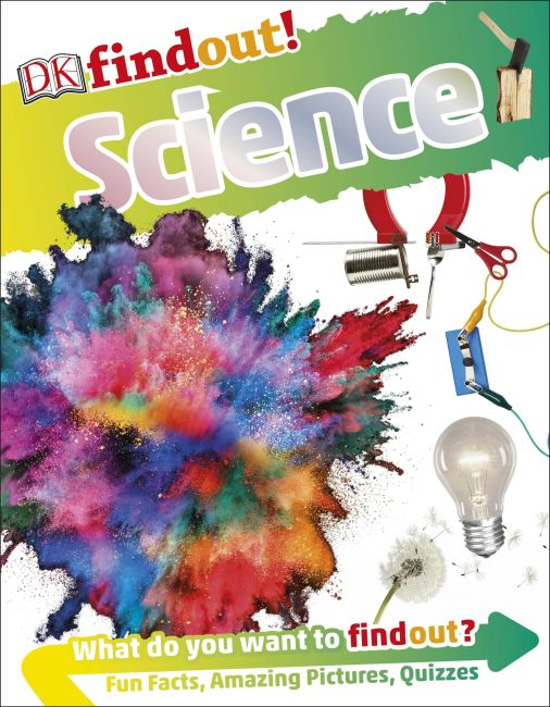 Flexibound cover of DKfindout! Science