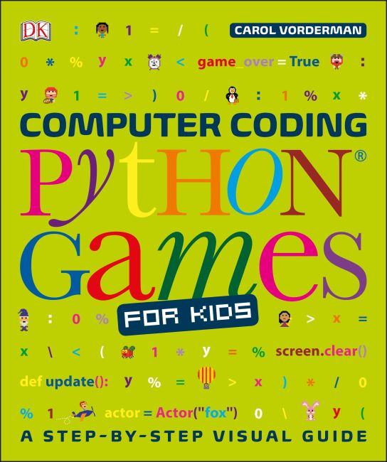 Flexibound cover of Computer Coding Python Games for Kids