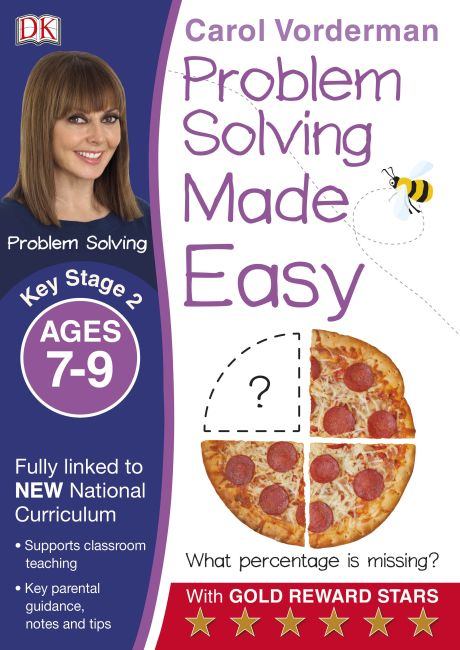 Paperback cover of Problem Solving Made Easy Ages 7-9 Key Stage 2