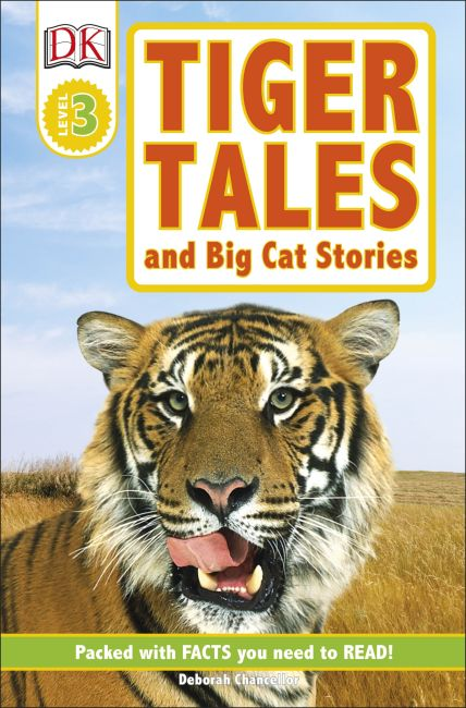 Paperback cover of DK Readers L3: Tiger Tales