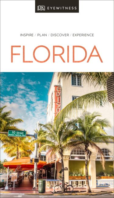 Paperback cover of DK Eyewitness Travel Guide Florida