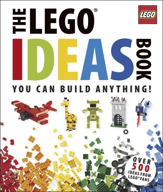 Hardback cover of The LEGO® Ideas Book