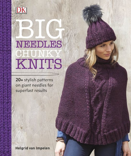 Hardback cover of Big Needles Chunky Knits