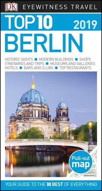 Paperback cover of DK Eyewitness Top 10 Berlin