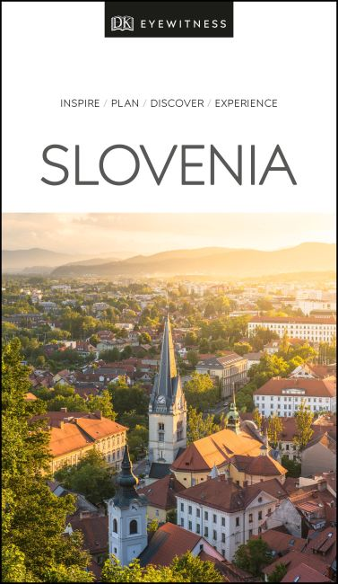 Paperback cover of DK Eyewitness Travel Guide Slovenia