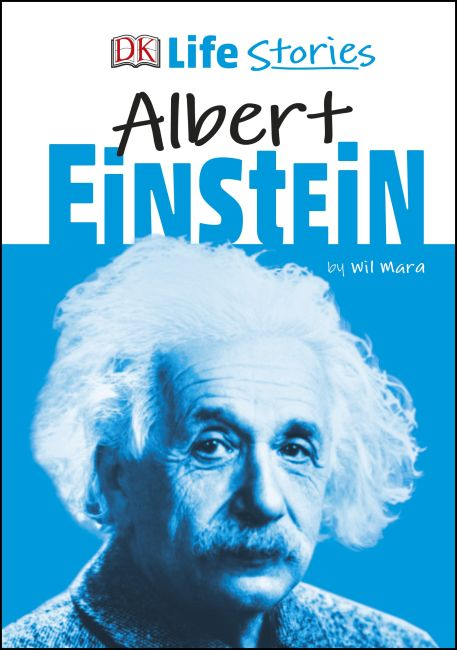 Hardback cover of DK Life Stories Albert Einstein