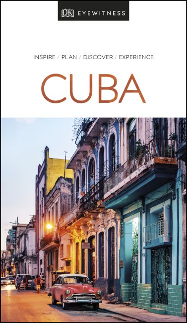 Paperback cover of DK Eyewitness Travel Guide Cuba