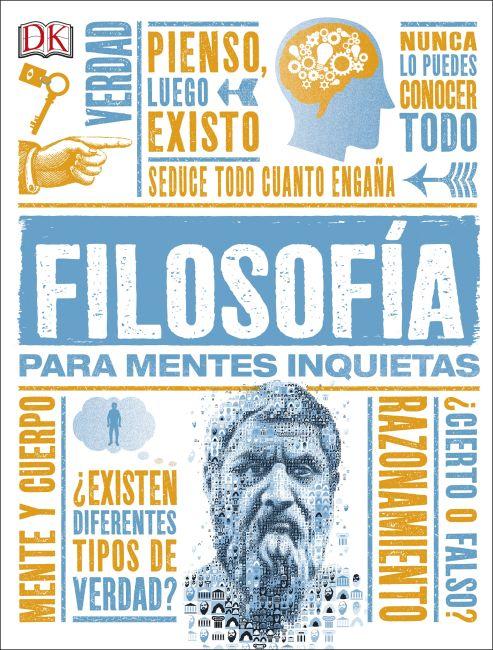 Hardback cover of Filosofía para Mentes Inquietas