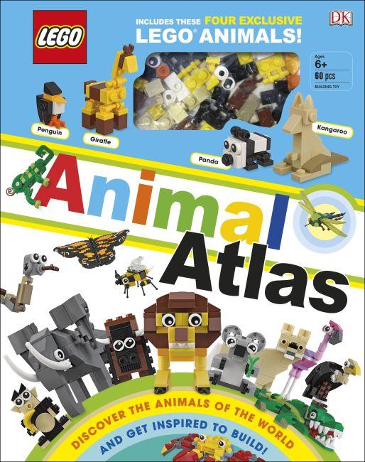 Hardback cover of LEGO Animal Atlas