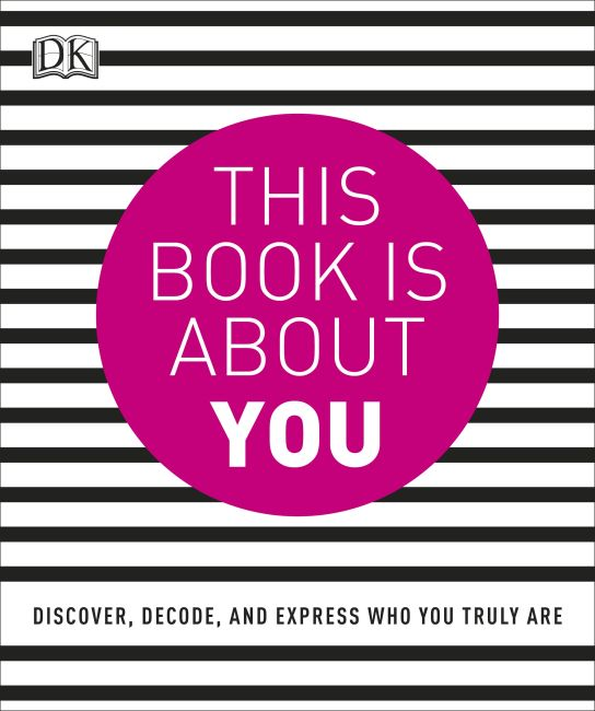 Paperback cover of This Book is About You