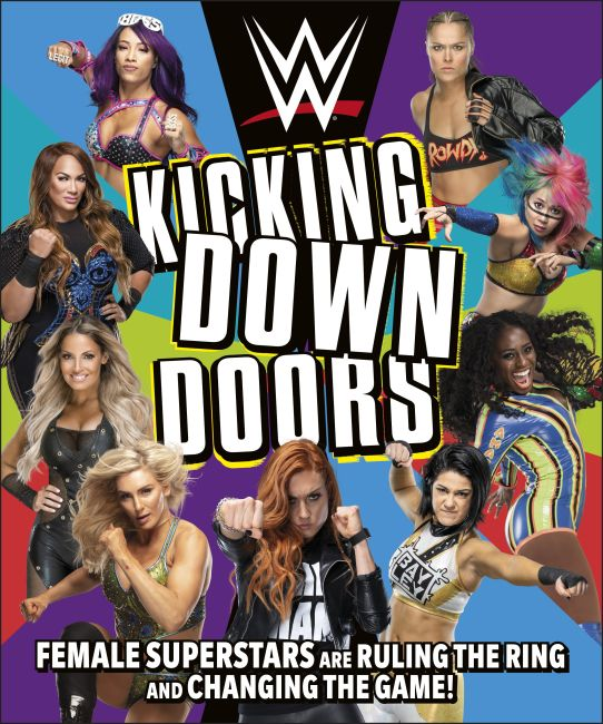 Hardback cover of WWE Kicking Down Doors