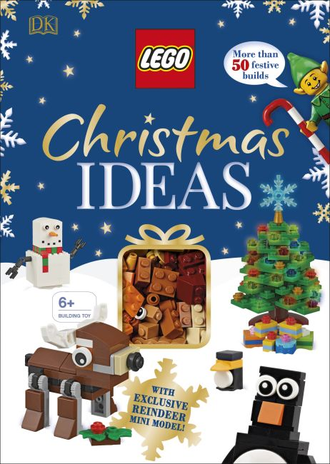 Hardback cover of LEGO Christmas Ideas