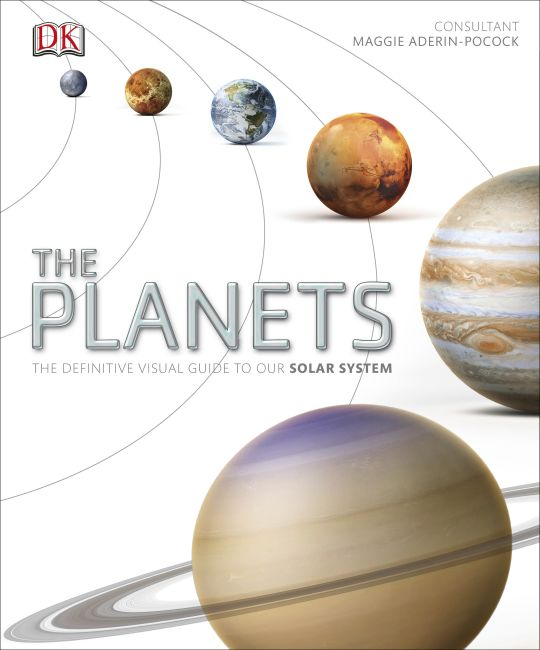 Hardback cover of The Planets