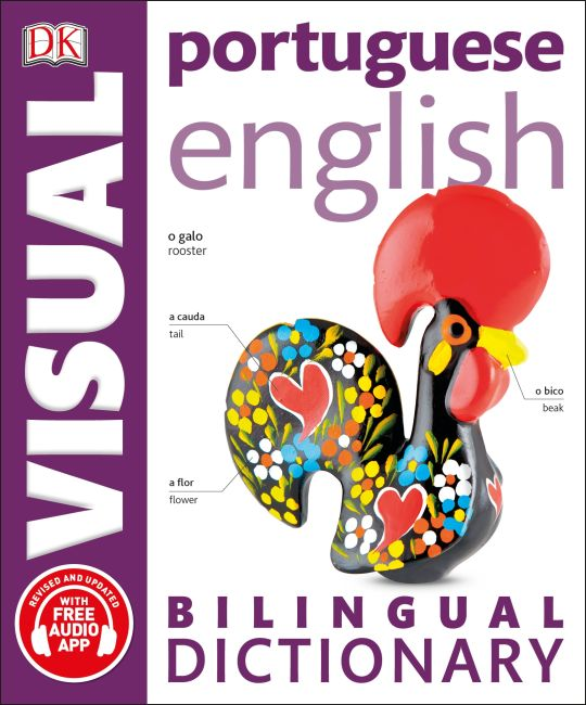 Paperback cover of Portuguese-English Bilingual Visual Dictionary