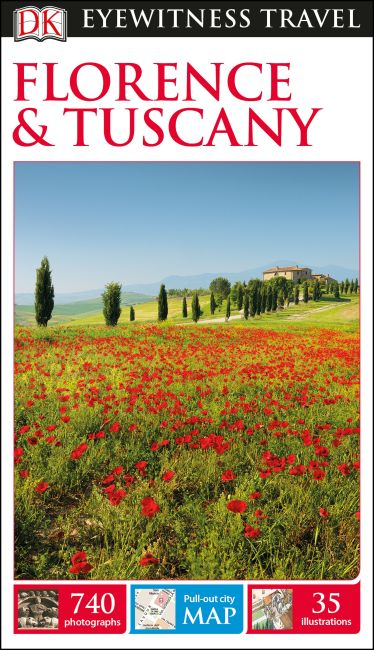 Flexibound cover of DK Eyewitness Travel Guide Florence and Tuscany