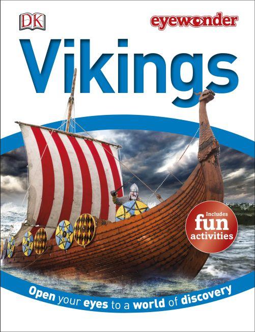 Hardback cover of Eye Wonder: Vikings
