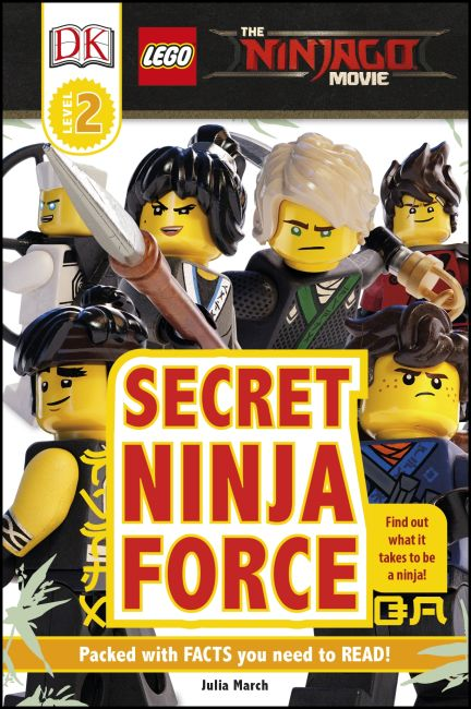 Hardback cover of DK Readers L2: The LEGO® NINJAGO® MOVIE™: Secret Ninja Force